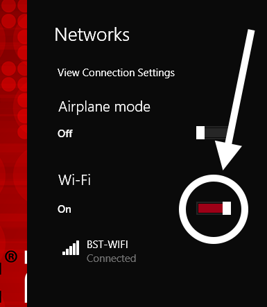 B-2 Wi-Fi connection